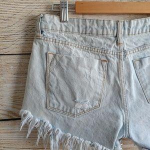bp Shorts - 💟 BP Denim Jean Distresses Frayed Shorts, size 27